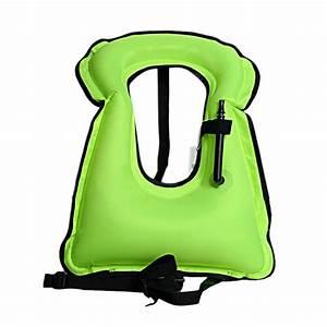 AUTO VOX Adult Inflatable Life Snorkeling Life Jacket
