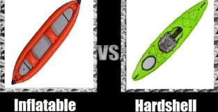 Inflatable Kayak vs Hard shell Kayaks